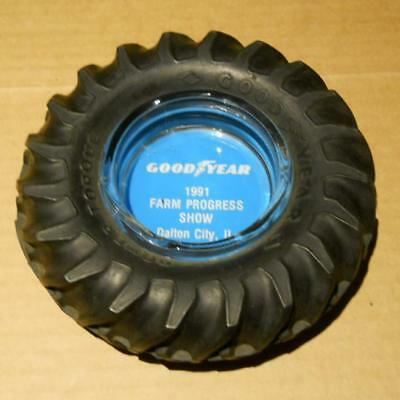 Tractor Tire Ash Tray Goodyear Farm Progress Show IL. Great Christmas Gift