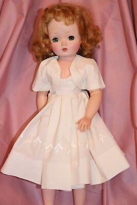 Vintage Day Dress And Bolero Fits Vintage Madame Alexander Cissy Doll No Doll