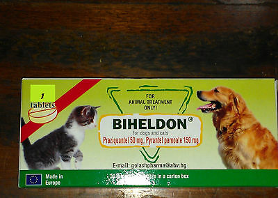 Cat Wormer Kitten Dewormer. We Use These On Our Shelter Animals,  99.9% Results