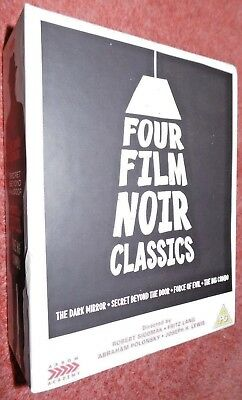 Four Film Noir Classics Limited Edition Blu-ray,The Dark Mirror,Force Of Evil...