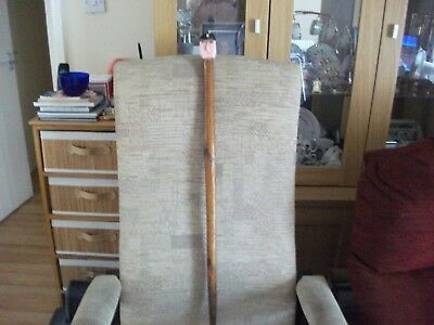 Vintage Miners Head Handle Walking Stick