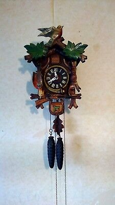 Cuckoo clock 1930's clock has been refurbished