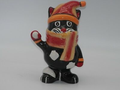Lorna Bailey 'snowballthe Cat Figure 5.25 Inch *excellent Purrfect Condition*
