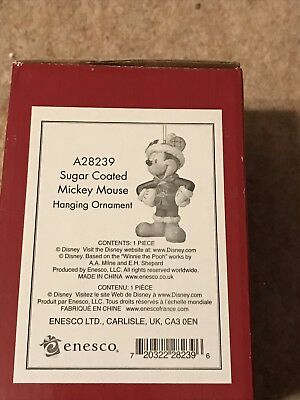 Disney Traditions - Sugar Coated Mickey Mouse Hanging Ornament