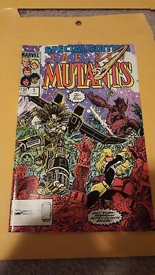 Marvel Comics The New Mutants Special Edition Issue 1 1985