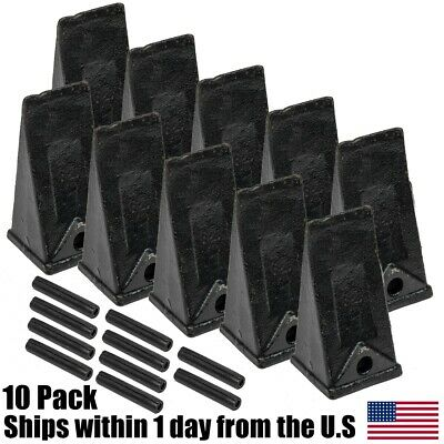10PK X156 Bucket Teeth P156 Roll Pin Skid Steer Mini Excavator Backhoe Hensley