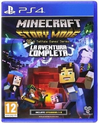 Minecraft Story Mode PS4 the Complete Advanture PS4 (Sony PlayStation 4) NEUWARE