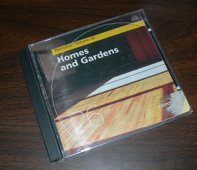 PhotoDisc Homes & Gardens Volume 26 (Stock Photography) 300 hi res on 2 CDs