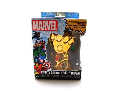 Marvel Infinity Gauntlet Dig it Display with Soul Gem - Avengers Infinity War