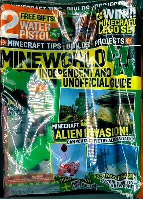 Mineworld Minecraft Magazine Issue 37 ~ New Sealed Pack ~