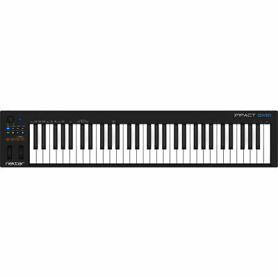 Nektar GX61 61 Key Velocity Sensitive USB MIDI Production Keyboard Controller