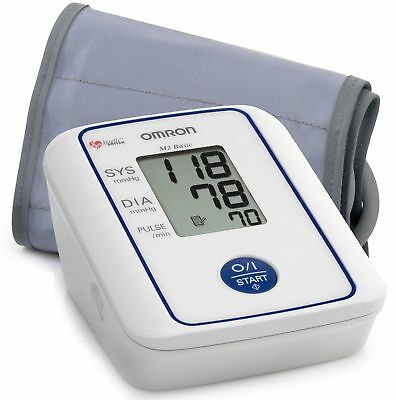 Omron M2 Basic - Automatic Portable Digital Blood Pressure Monitor