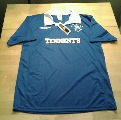 Rangers home shirt 2010-2011 Medium new with tag
