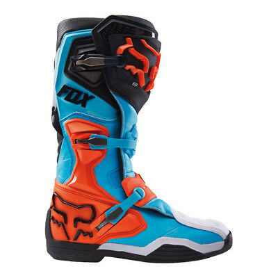 Fox Comp 8 Boot-Rs Aqua | Size 10 | Last One Blowout! ** Fast Shipping **
