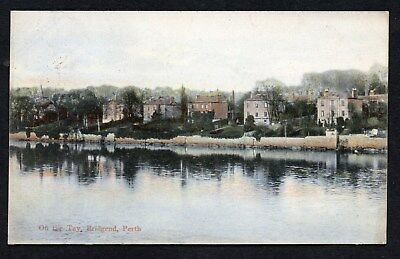 1905 On The Tay Bridgend Perth Posted Card As Scanned