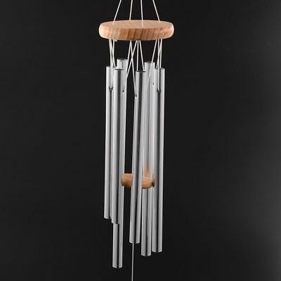 Chapel Bell Wind Chime Door Wall Antique Grace Deep Resonant 6 Tube Hanging Home