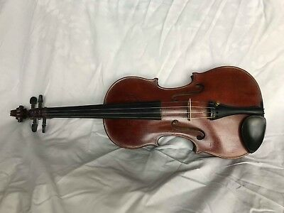 1912 Johann Glass Violin - Made in Leipzig Germany - 4/4 Size - Beautiful