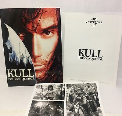 Kull The Conqueror Movie Press Kit Kevin Sorbo 1997 Universal Pictures