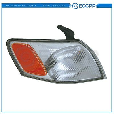 Left 18-3458-00 TO2530126 Corner Light Signal Lamps For 97-99 Toyota Camry