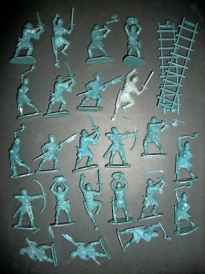 Large Lot Of Airfix 54Mm Men At Arms