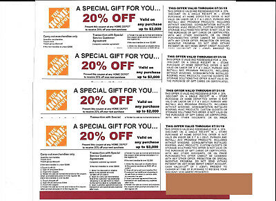 *(4)****  20% OFF Coupons at Lowe's exp 07/31/19