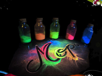 Premium Neon Glow in the Dark Pigment Powder for Paint,Nail,Art,Crafts, Acrylic