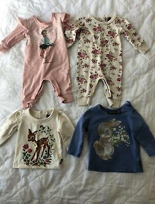 Rock Your Baby 4 Items Size 000 And 00