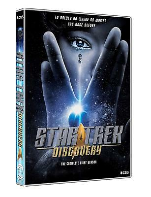 Star Trek Discovery Season One DVDs Set