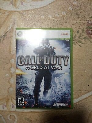 Call of Duty: World at War -- Platinum Hits Microsoft Xbox 360, 2010 Video Game