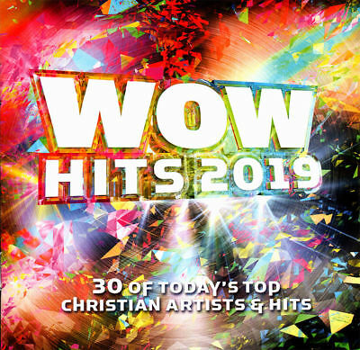 WOW Hits 2019: Today's Top Christian Artists & Hits [2CD] NEW and Factory Sealed