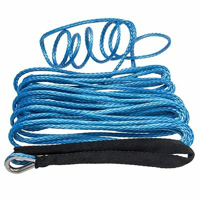 """High Performance 1/4"""" x 50' Synthetic (UHMWPE) Winch Rope.  8,200 LB Capacity"""