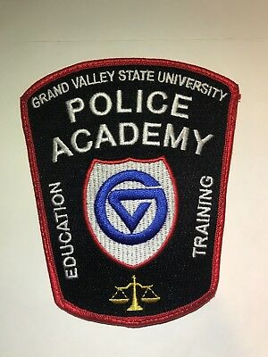Grand Valley State University Police Academy Patch Michigan