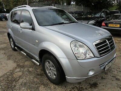 2008 Ssangyong Rexton 270 S 5S Automatic - Leather, Sat-Nav, Climate, Radio Etc