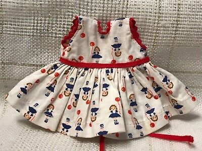 1957 Vintage Doll CLOTHES - DRESS (tags) Vogue Ginny, Ginger, Muffie, Alex, 8""