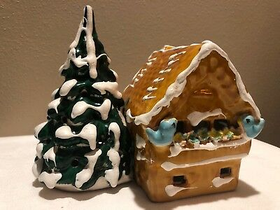 Dept 56 The Original Snow Village Small Chalet Gingerbread Chalet w/ Cord