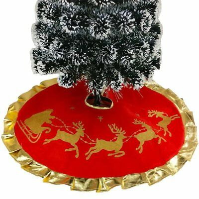 Christmas Tree Skirt Carpet Party Ornaments Christmas Decoration for Home
