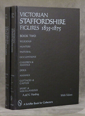 A Harding / Victorian Staffordshire Figures 1835-1875 2 vols-- Book One 1st ed