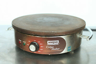 "Waring WSC160 Commercial Heavy Duty Electric 16"" Crepe Maker 120V 115V 1800 Watt"