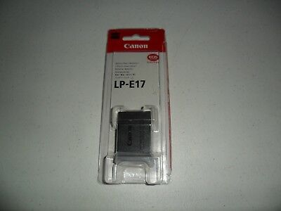 Canon LP-E17 Lithium-Ion Battery Pack for Canon EOS Rebel T6i T6s DSLR Camera