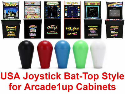 Arcade1up Street Fighter 2 Pac Man Rampage Galaga Joystick Bat Top Handles