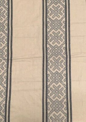 """Cowtan And Tout Florence In Blue & White 11437/01 25""""W X 35""""H Remnant"""