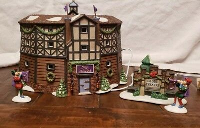 Department 56 Dickens' Village Series The Old Globe Theatre Item#58501