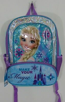 Nwt Disney Frozen Backpack                         A9535