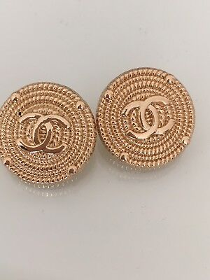 Chanel Buttons Set Of 2 Buttons 20mm