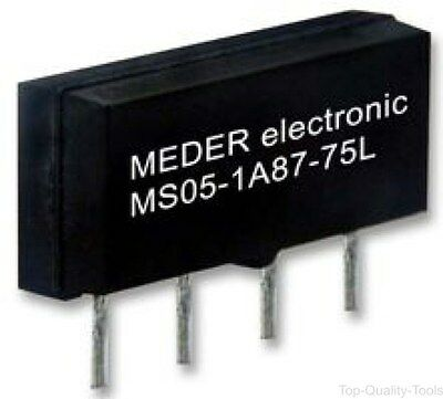 RELAY, REED, MICROSIL, 12VDC, Part # MS12-1A87-75D
