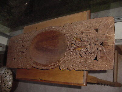 Amazing Carved Ceremonial Bowl From Trobriand Islands South Pacific