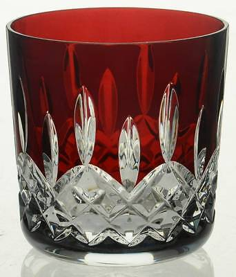 New Waterford Crystal Lismore Red Tumbler 9 0z