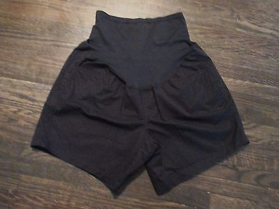 Old Navy Maternity Womens Sz 4 Soft Belly Cover Cotton Shorts