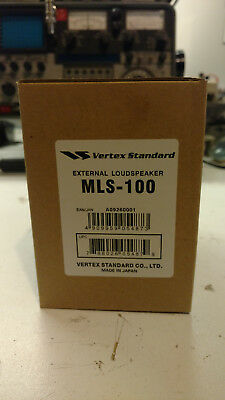 Vertex Standard Yaesu MLS-100 12W External Swivel Base Radio Speaker - NEW!