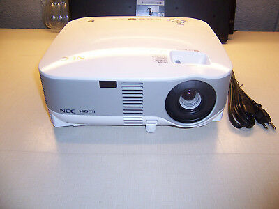 NEC MultiSync NP901W LCD Projector